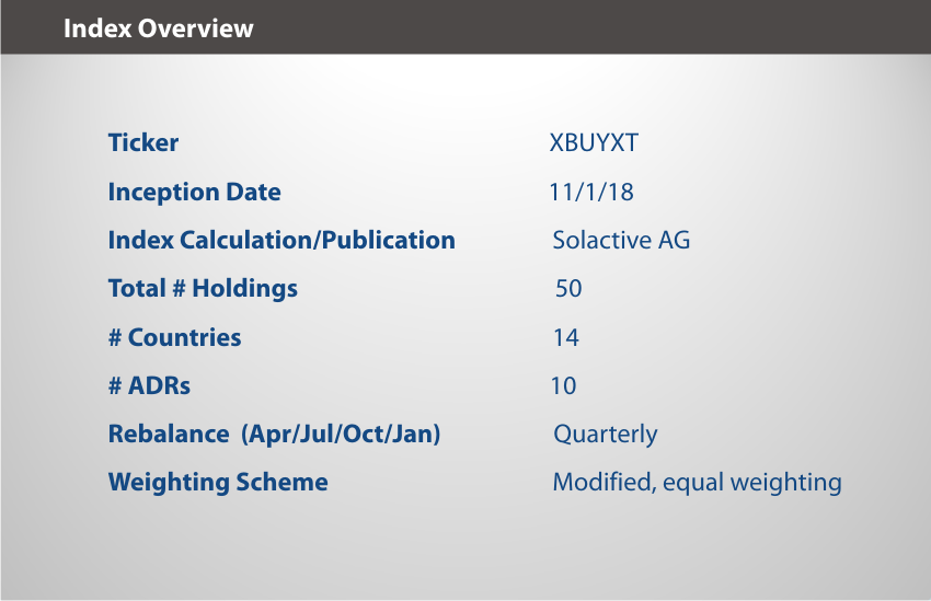 XBUYXT Index Overview