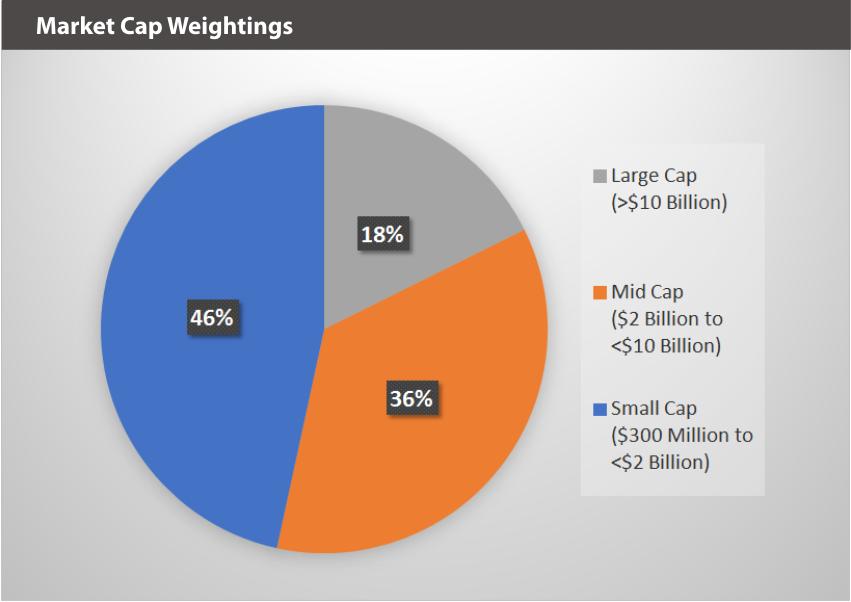 XBUYXT Market Cap Weightings