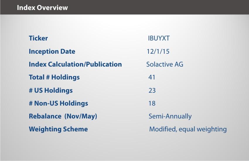 IBUY Index Overview