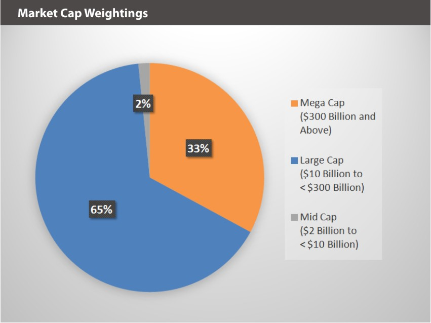XOUT U.S. Large Cap Index Market Cap Weightings 9.30.19