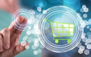 Man Selecting Online Shopping