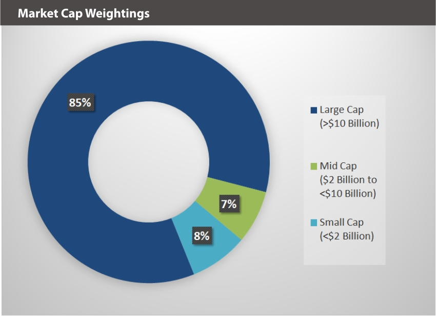 EQM Social Justice Index Market Cap Weightings