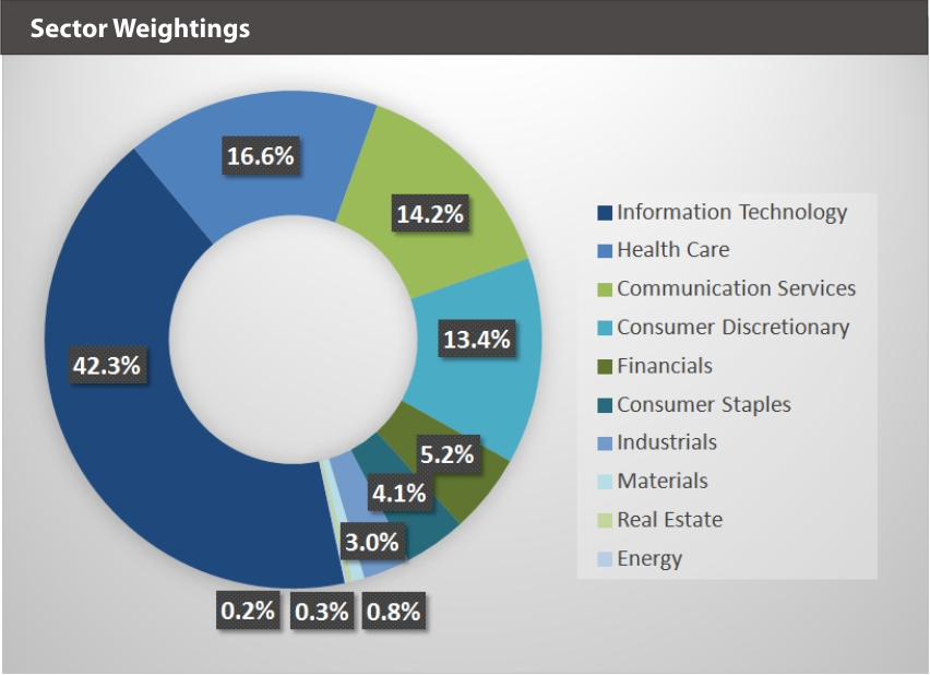 XOUT Sector Weightings
